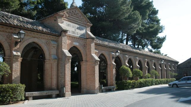 Entrada crematorio Toledo 2