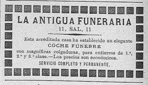Antigua funeraria nuevo ateneo