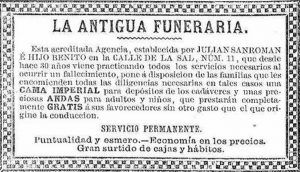 Antigua funeraria grande