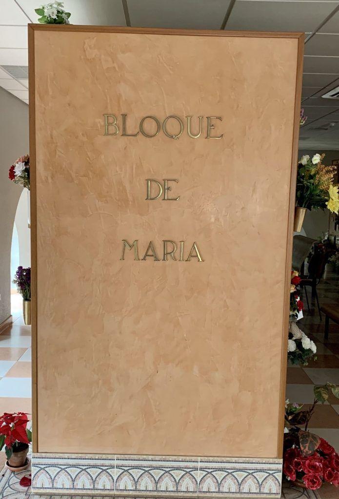 Crematorio bloque Maria